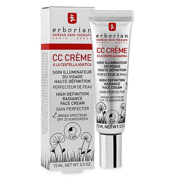 cc creme från erborian är en av fem sommarfavoriter